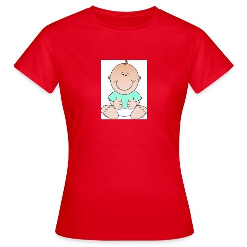 rompertje baby jongen - Vrouwen T-shirt