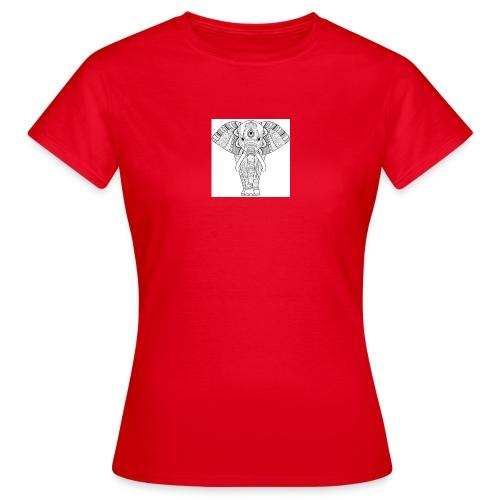 FreelyClothing - Elefant - Dame-T-shirt