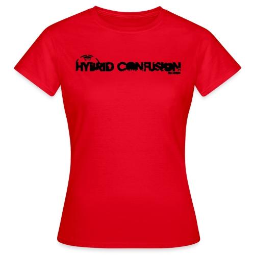 hybrid tshirt new font raster rechteck k - Women's T-Shirt