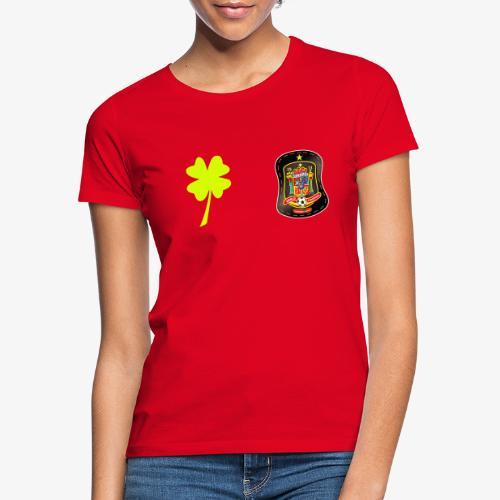 Trébol de la suerte / Escudo de España - Camiseta mujer