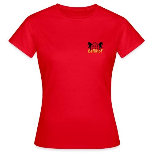 Logo Bellihof - Frauen T-Shirt