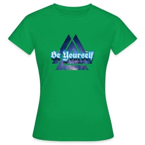 Be Yourself By:Wesley silva - Camiseta mujer