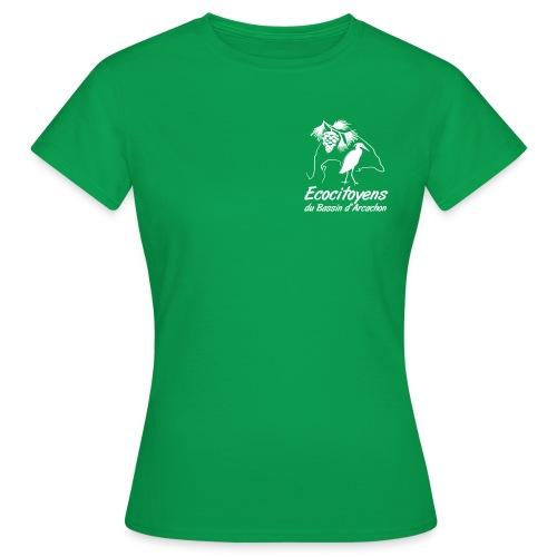 LOGO EBA POITRINE - T-shirt Femme