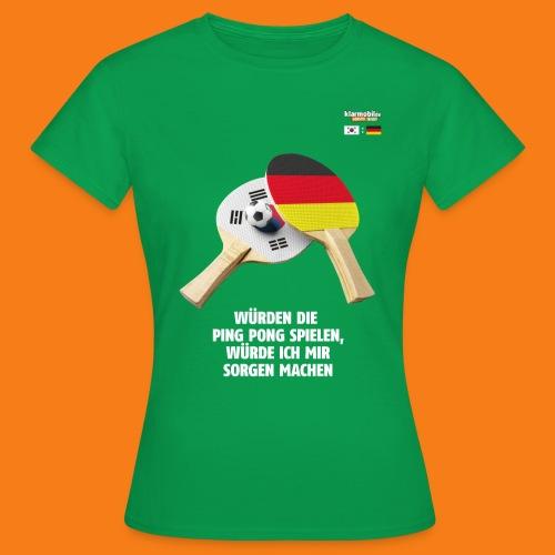 Korea Shirt - Frauen T-Shirt