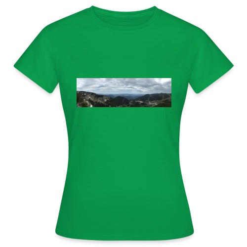 Alpenaussicht - Frauen T-Shirt