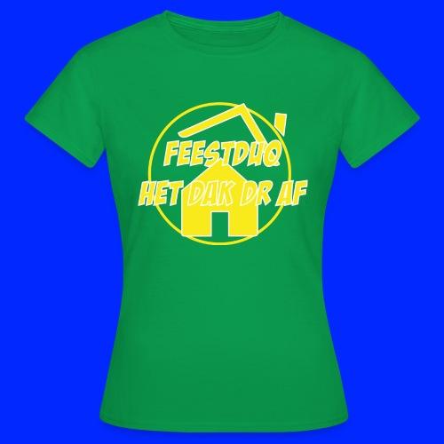 Geel Logo - Vrouwen T-shirt