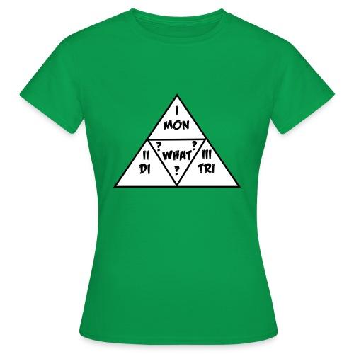 Mon_Di_Tri_What? Black Desert Tri Force - Frauen T-Shirt