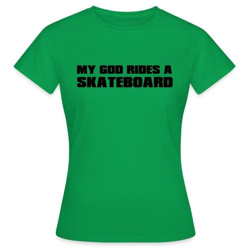 skateboard - T-shirt Femme