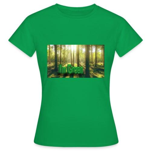 I'm Green. - T-shirt dam