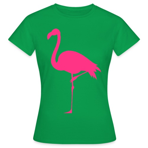 Freaking Flamingo - T-shirt dam