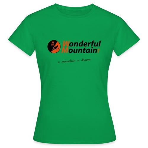 WM SLOGAN - Camiseta mujer