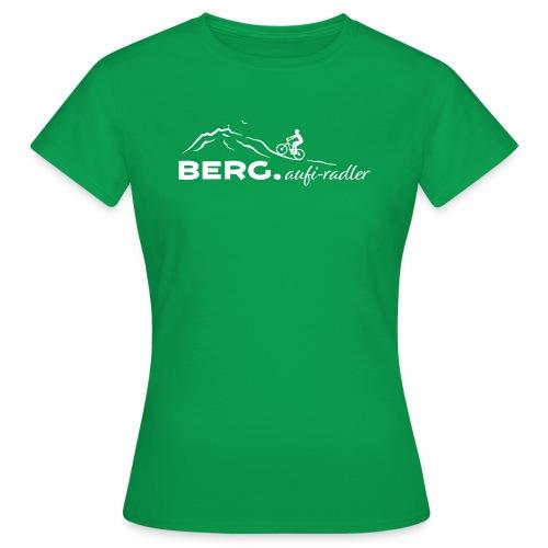 BERG.aufi-radler - Frauen T-Shirt