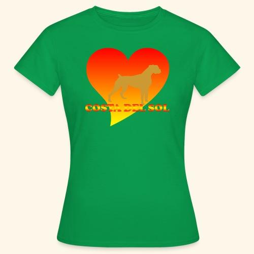 cdsDog1 - Frauen T-Shirt