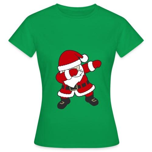 Dab Dabbing Trend Santa Claus Weihnachtsmann Logo - Frauen T-Shirt
