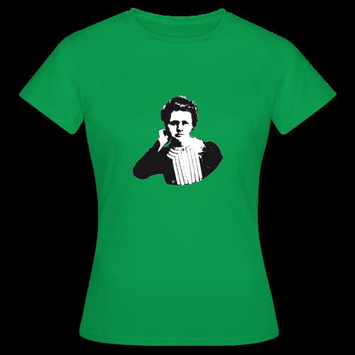 Marie Curie - Camiseta mujer