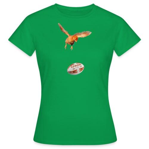 rugbychick - shirt voor meisje rugby shirtsbybart! - Vrouwen T-shirt