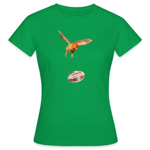 rugbychick - shirt voor meisje rugby shirtsbybart! - Vrouwen T-shirt