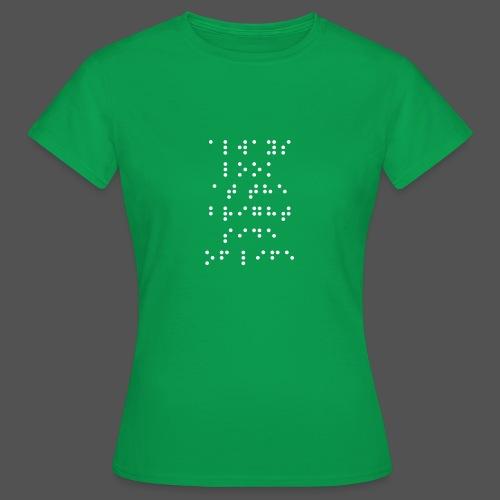 Braille fashion - Vrouwen T-shirt