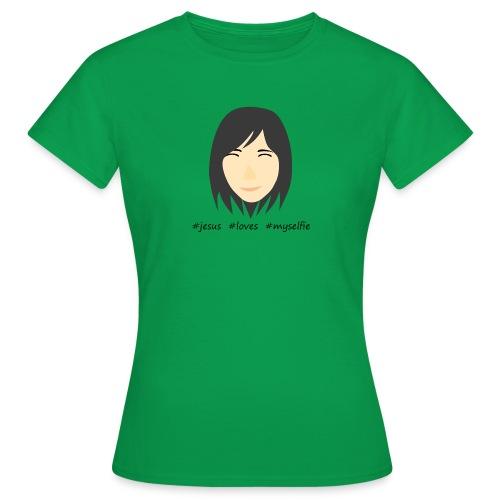 jesus loves myselfie - Frauen T-Shirt