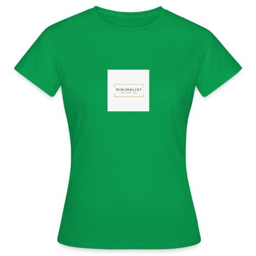 Minimalist - T-shirt Femme