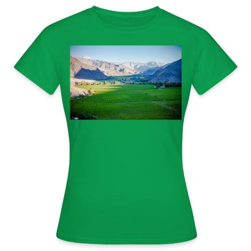 Valle de copiapo sernatur DST49 1 - Camiseta mujer