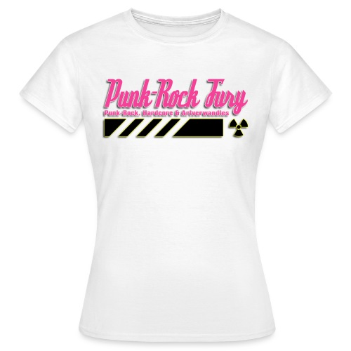 Punk-Rock Fury Logo - Frauen T-Shirt