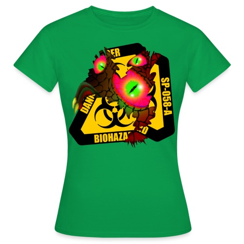 BIOHAZARD - Camiseta mujer