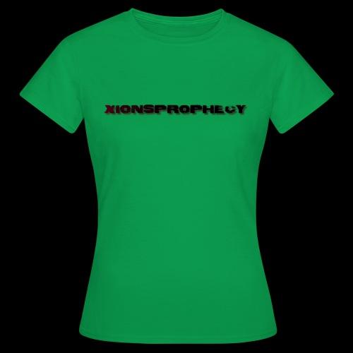 XPShirtLogo3Red - Women's T-Shirt