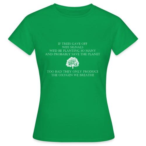 Tree Wifi - Vrouwen T-shirt