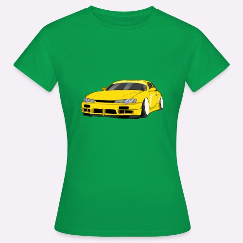 """Voiture jaune drift """"Stance"""" - T-shirt Femme"""