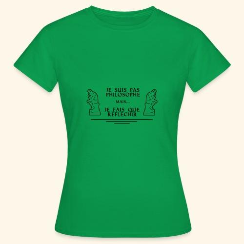 Le Penseur - T-shirt Femme