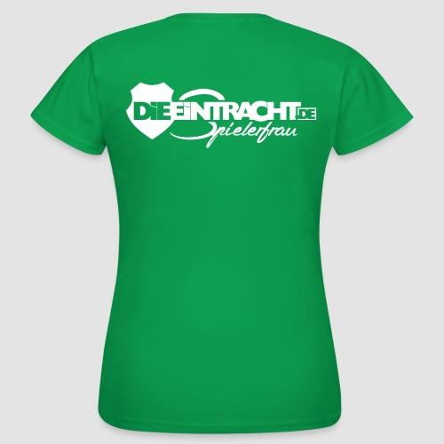 Spielerfrau #white - Frauen T-Shirt