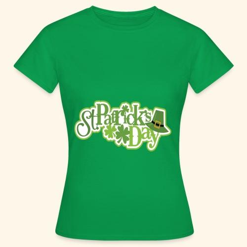 St Patrick`s Day Leprechaun Riding fun gift tshirt - Women's T-Shirt