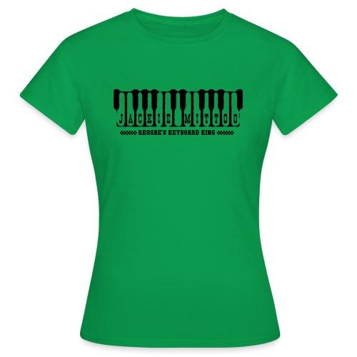 Jackie Mittoo | Reggae's keyboard king - Camiseta mujer
