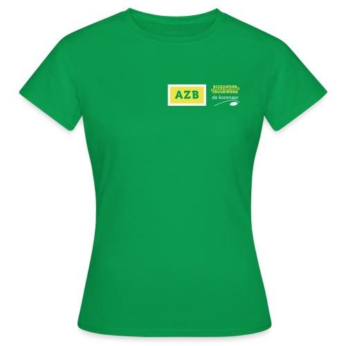 AZB logo Geel Wit - Vrouwen T-shirt
