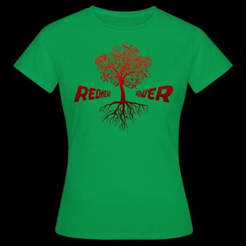 Redhead Power - Frauen T-Shirt