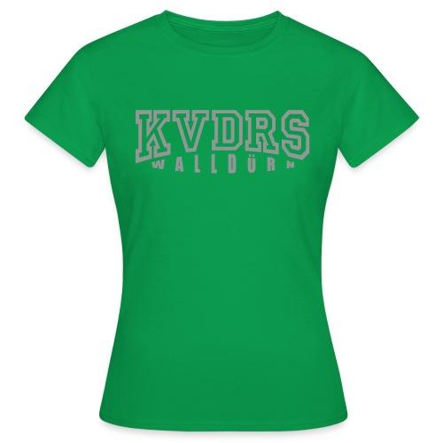 Logo groß Hintergrund hell - Frauen T-Shirt