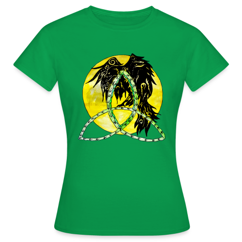 tribalrabe2 - Frauen T-Shirt