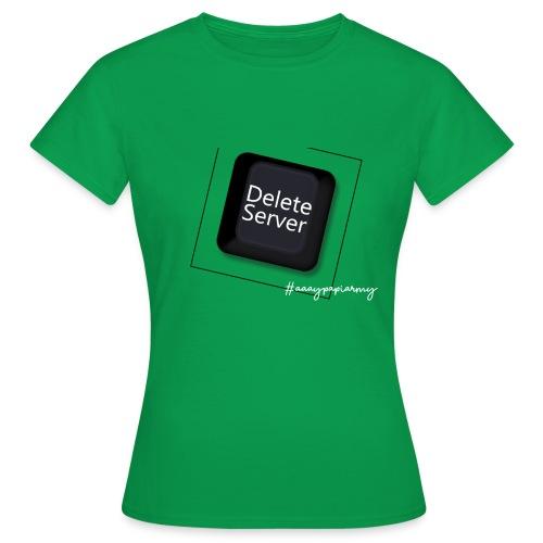 Delete - Frauen T-Shirt