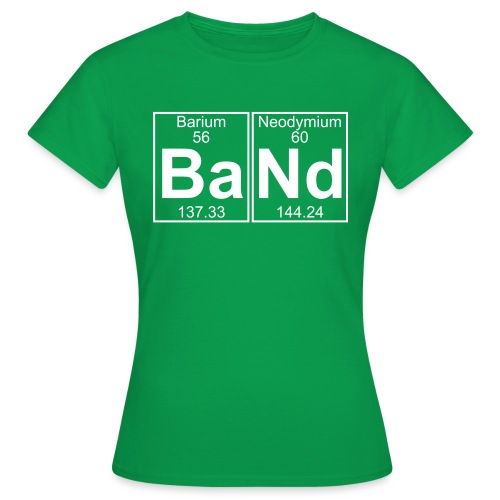 Ba-Nd (band) - Full - Women's T-Shirt