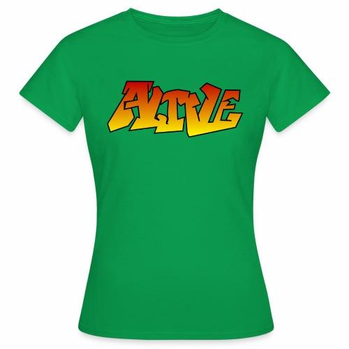 ALIVE CGI - Women's T-Shirt