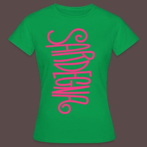 Sardegna Calligrafica - Maglietta da donna
