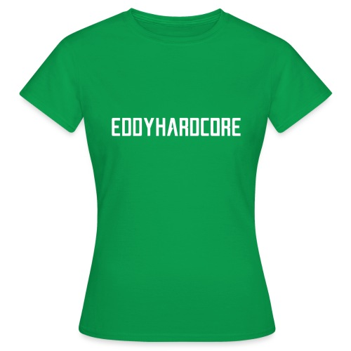 EddyHardcore logo nek transparant png - Vrouwen T-shirt