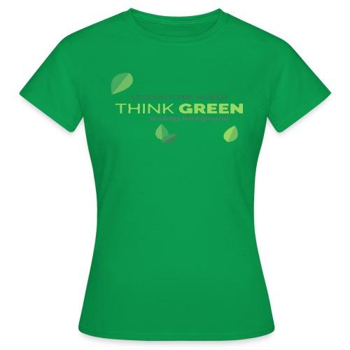 Lest save the world - Camiseta mujer
