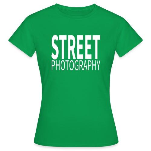 Street Photography T Shirt - Maglietta da donna