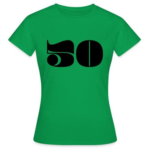 50 - FIFTY - Women's T-Shirt