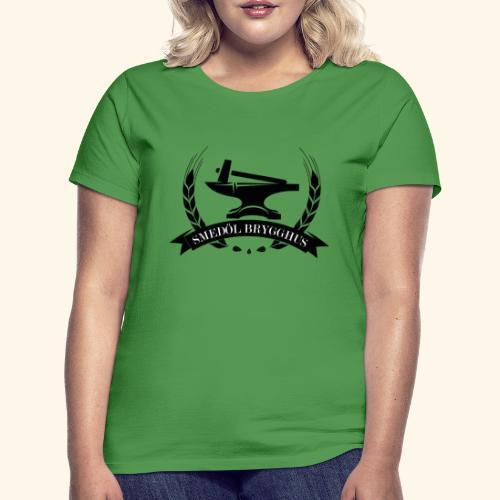 Smedöl Brygghus Logga Svart - T-shirt dam