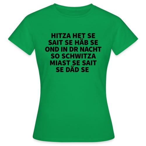 Hitza - Frauen T-Shirt