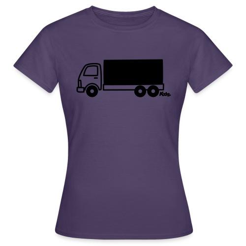 LKW lang - Frauen T-Shirt
