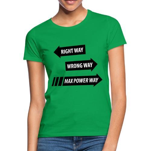 Max Power - T-shirt dam